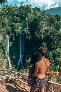 bali cascata SEKUMPUL WATERFALL