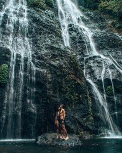 Bali Indonesia BANYUMALA TWIN WATERFALL
