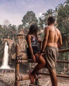 cascata bali TEGENUNANG WATERFALL