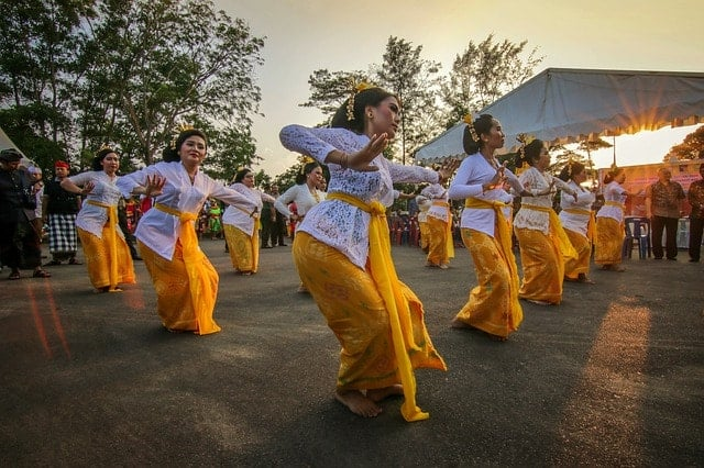 Danzatrici Balinesi