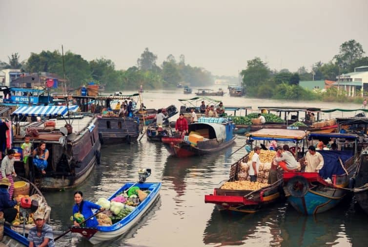 Barche Mekong Delta