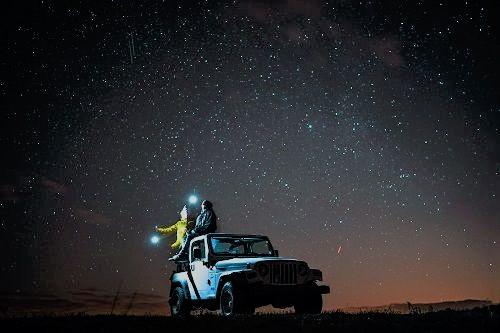 viaggi in coppia cielo stellato