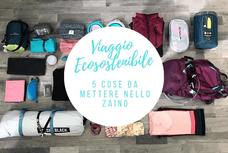 viaggio ecosostenibile