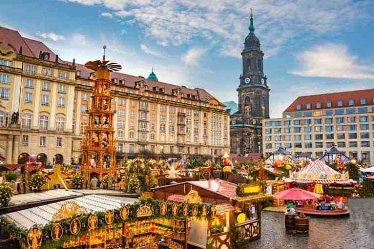 Mercatino di Natale in Europa di Dresda