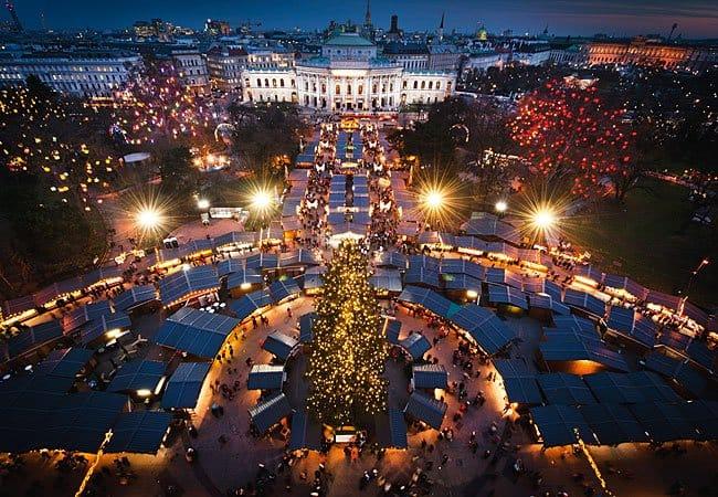 mercatino di Natale in europa Vienna