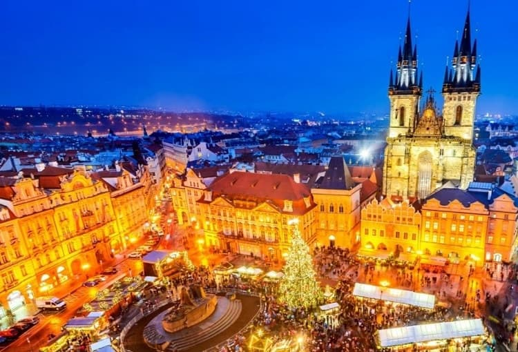 mercatino di Natale in europa Praga