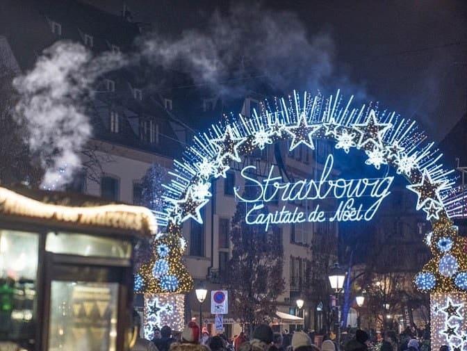 mercatino di Natale in europa di Strasburgo