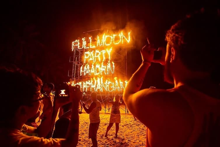 Full Moon Party a Koh Phangan