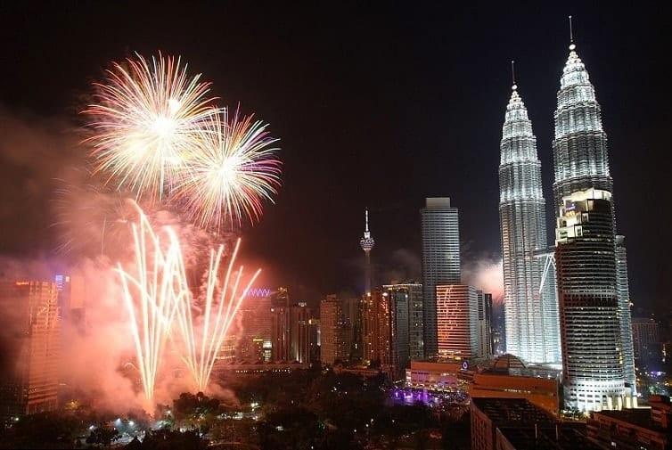 Capodanno a Kuala Lumpur