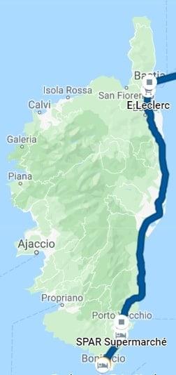 Bonifacio - Bastia