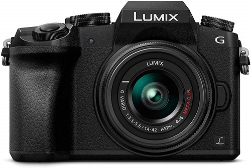 Migliori fotocamere mirrorless - Lumix G7