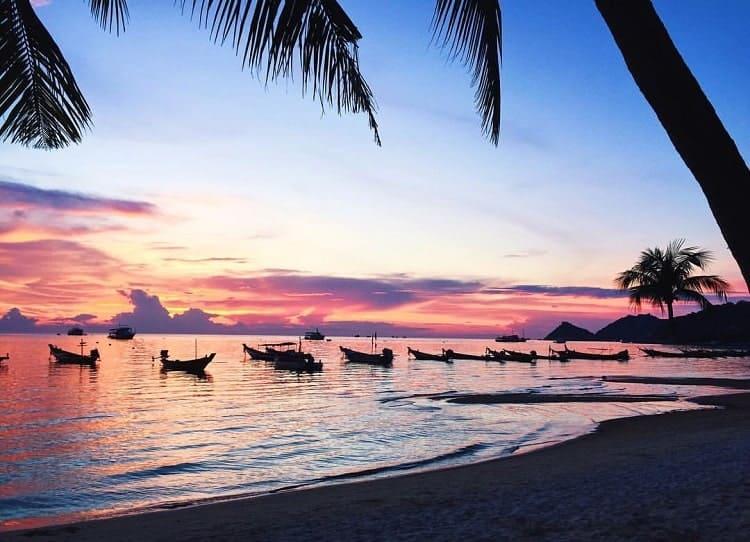 Le migliori spiagge Koh Tao - Sairee Beach