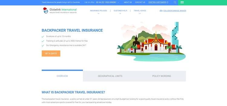 assicurazione viaggio Globelink
