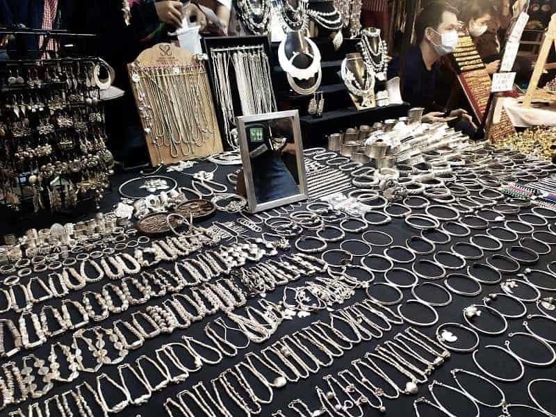 oggetti in argento chiang mai