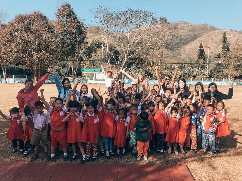 Foto finale scuola Samoeng