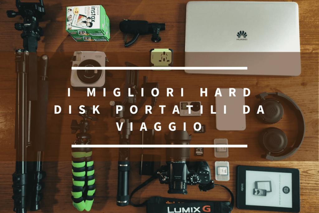 i migliori hard disk portatili da viaggio